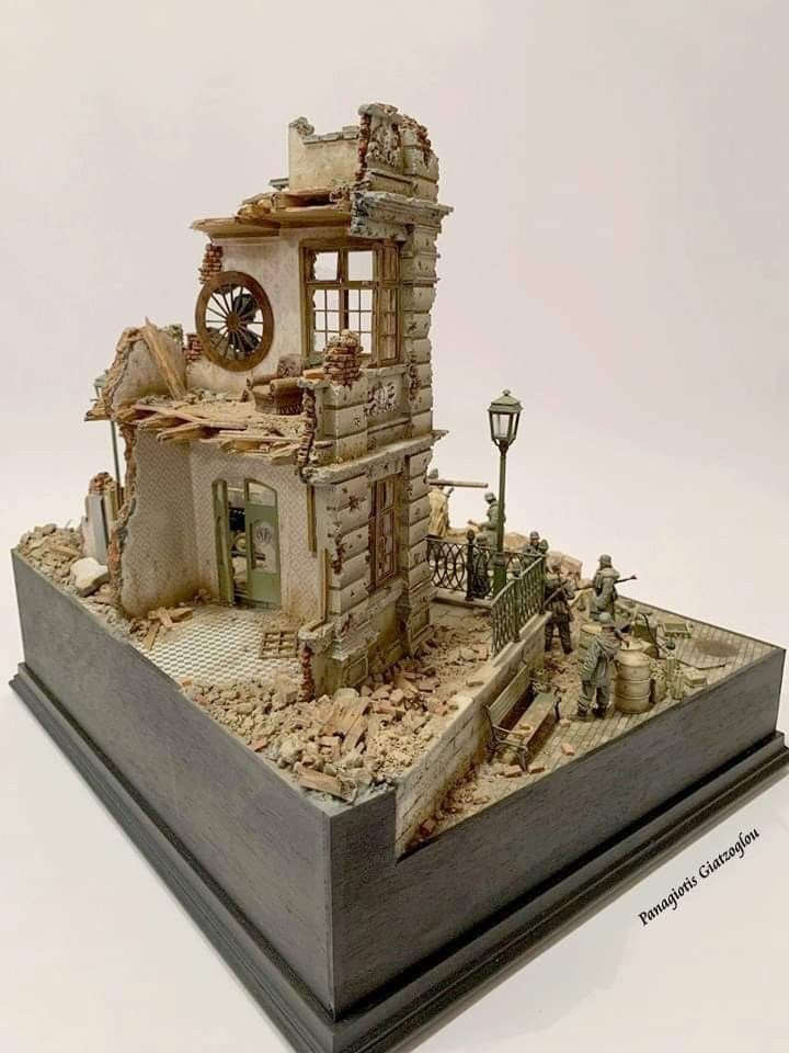 The Small Scale World of Diorama Building