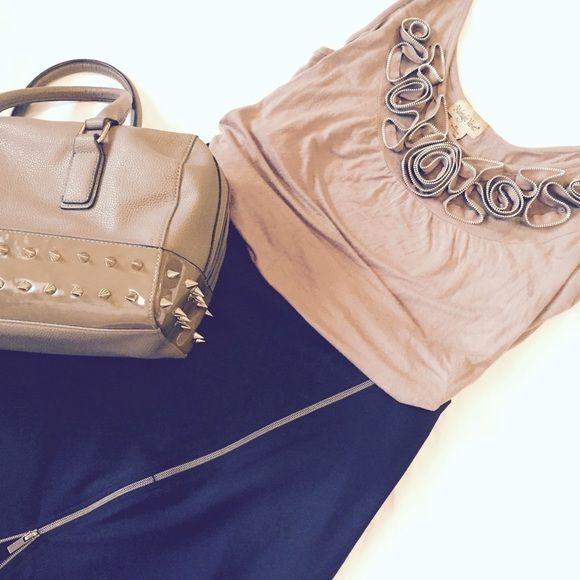 Zipper Fashion Rosettes