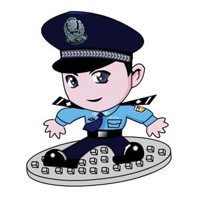 Chinese Internet Security and the Cartoon Mascots Used in China to Keep the Internet Regulated