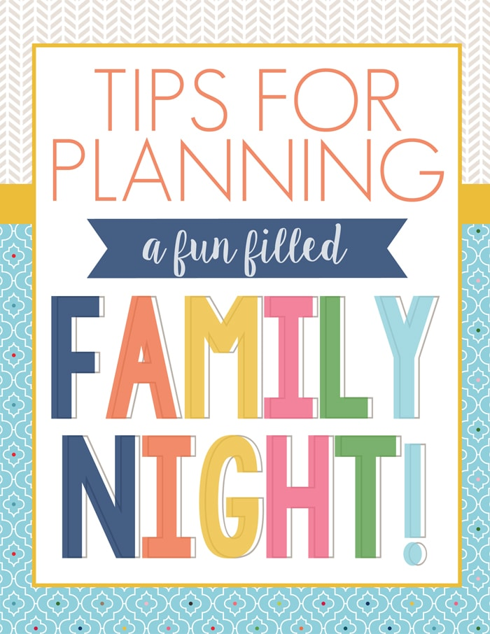Having and Planning Family Night